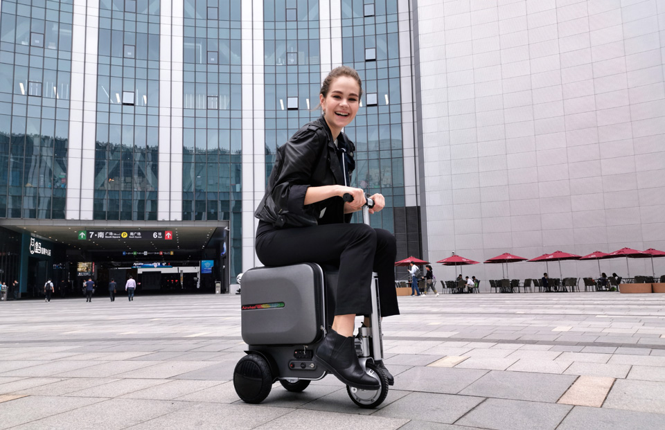 Airwheel SE3 scooter luggage